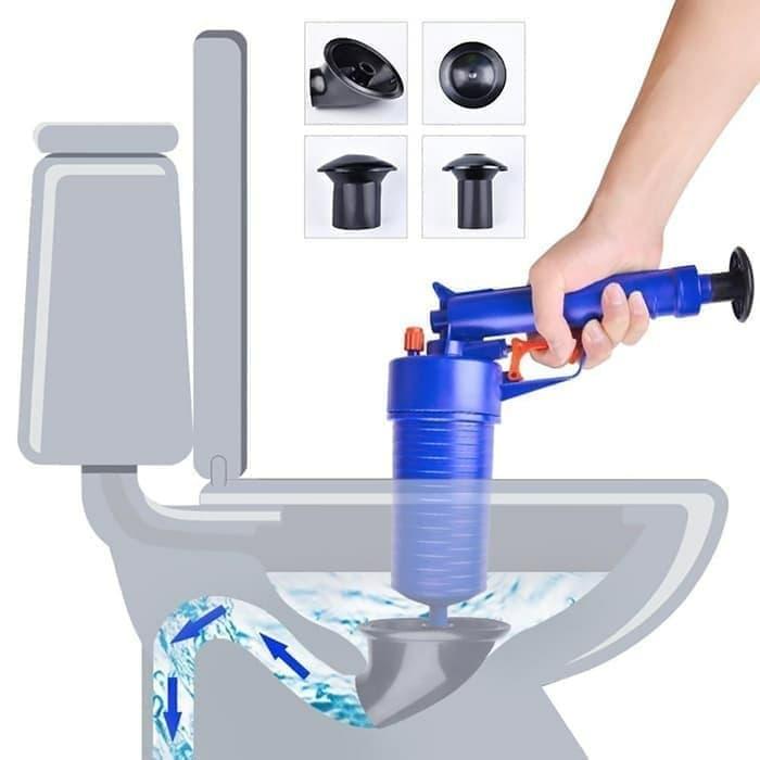 Alat Pembersih WC Mampet Wastafel Toilet Kakus