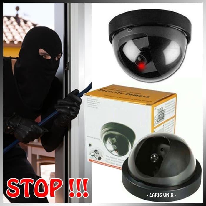 Cara Memasang CCTV Fake Dummy Camera