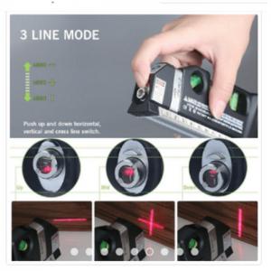 Read more about the article Waterpass Penggaris Laser Meteran Manual 250 CM Original