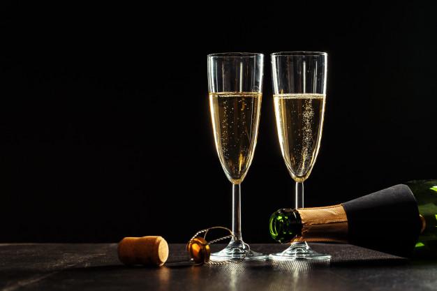 Champagne Asal Prancis