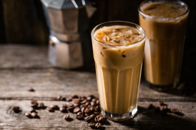 contoh menu minuman Es Kopi Susu Asal Indonesia