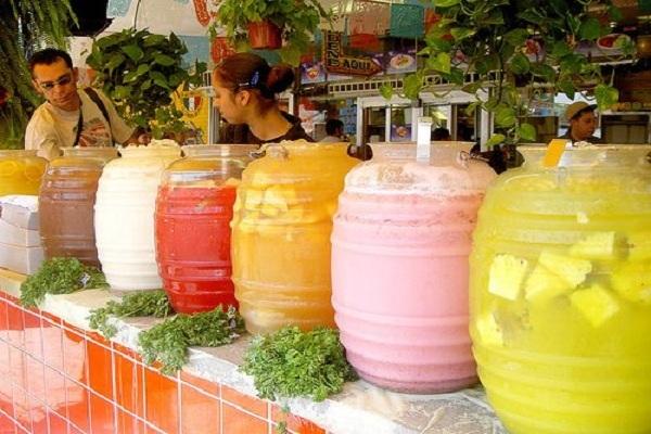 Minuman Aguas Frescas Asal Meksiko