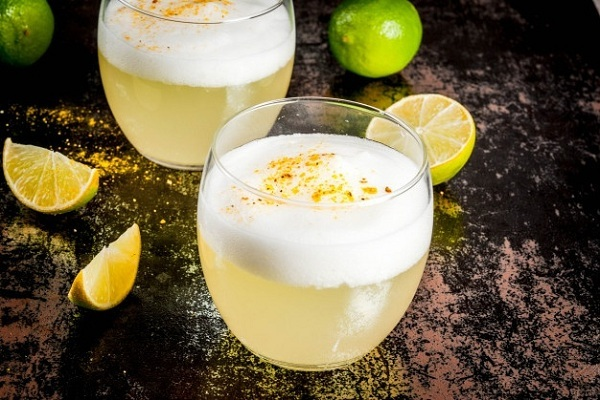 Minuman Pisco Sour Asal Peru