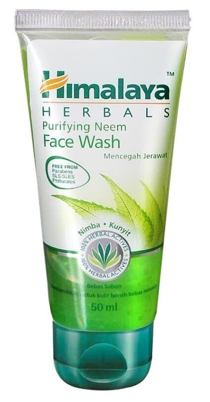 Himalaya Purifying Neem Face Wash Facial Foam Kulit Berjerawat