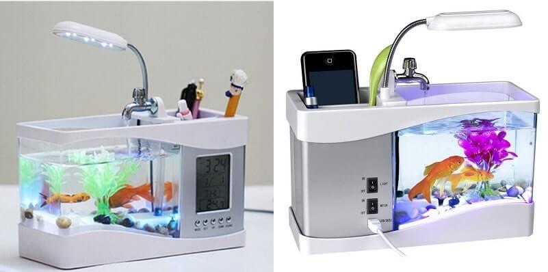 Nano USB Mini Aquarium Portable