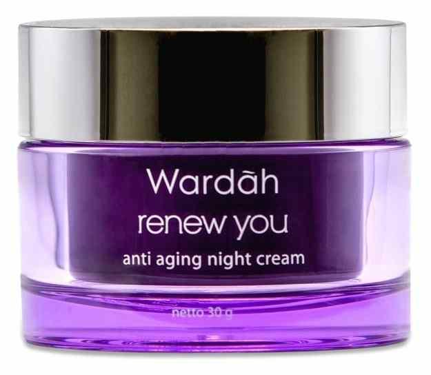 Wardah Renew You Night Cream Krim Malam Anti Aging